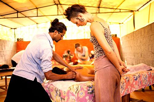 Ayurvedic Massage Training Course in India