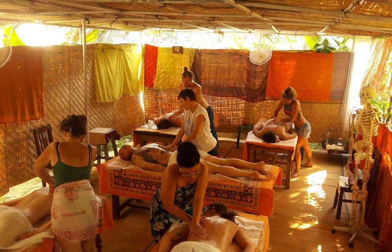Ayurvedic Massage Training Course in India