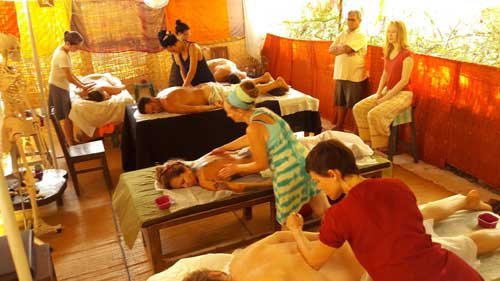 Massage Training Classes in India