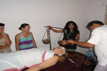 Abhyanga - Marma Massage & Shirodhara Training