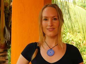 Massage trainer Julie