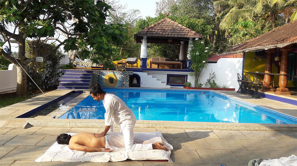 AyurYoga Massage Training in India